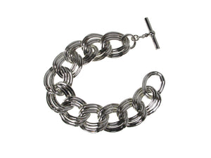Flat Linked Metal Bracelet | Erica Zap Designs