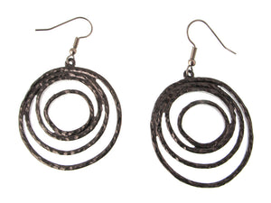 Multi Circle Metal Earrings | Erica Zap Designs