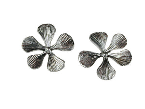 Sterling Filaree Flower Earrings | Erica Zap Designs