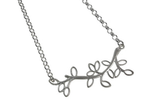 Sterling Branch Chain Necklace | Erica Zap Designs