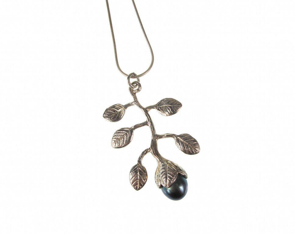 Branch Pearl Pendant | Large - Erica Zap Designs