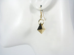 Angled Drop Earrings