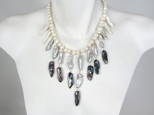 Pearl Bib Necklace | Erica Zap Designs