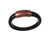 Men's Leather Bracelet | Simple Magnetic Clasp | Erica Zap Designs