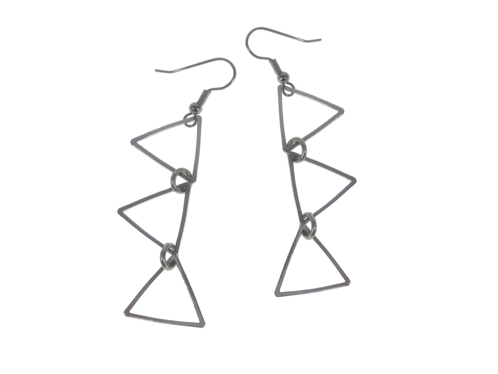 Multi Triangle Earrings