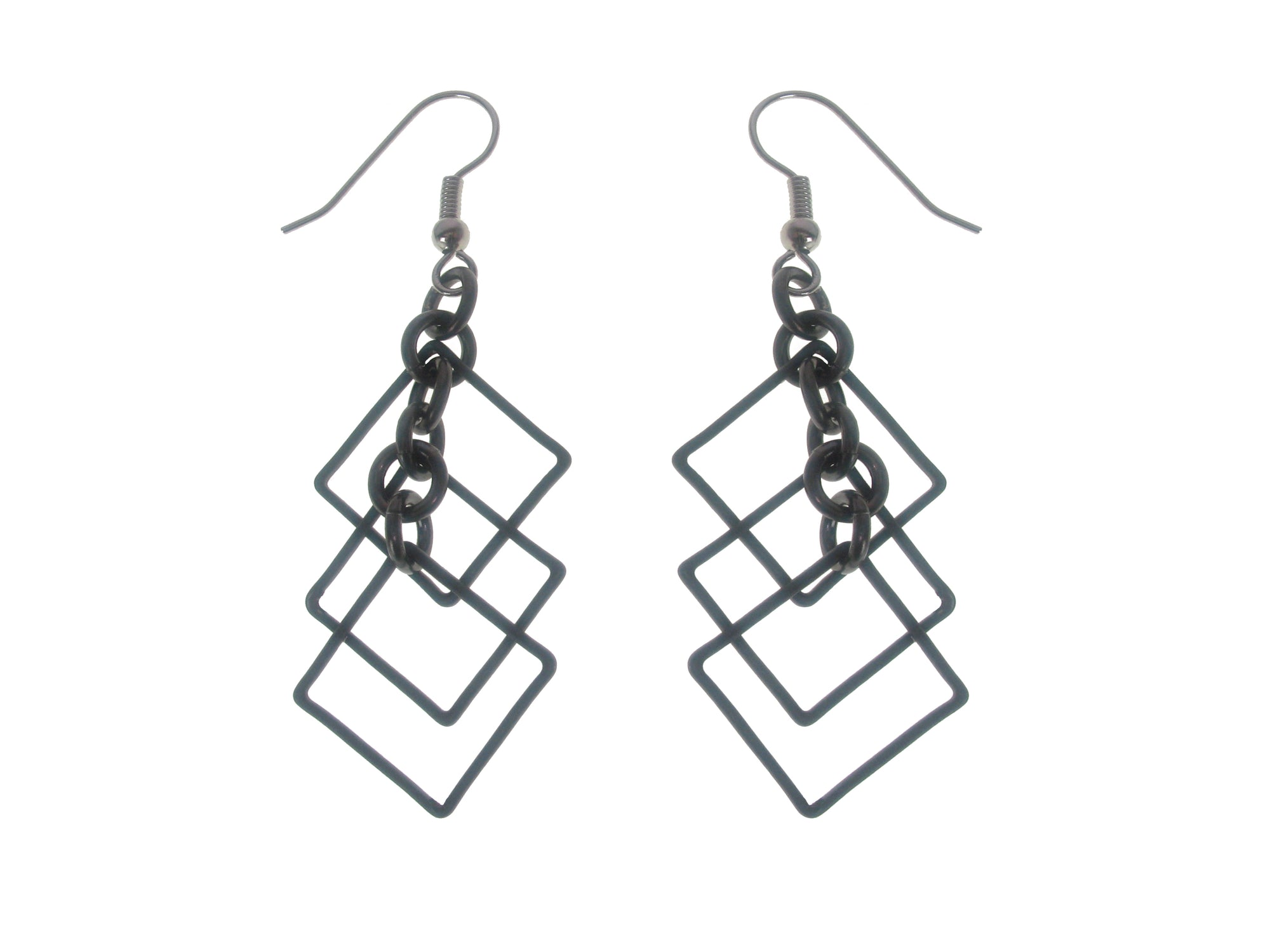 Multi Square Earrings