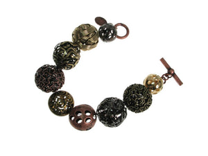 Mixed Spheres Bracelet | Erica Zap Designs