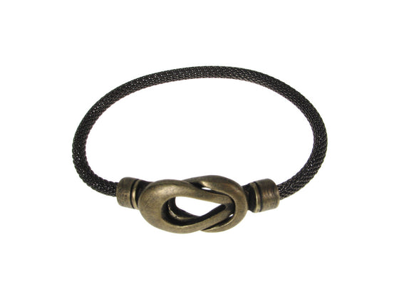 Mesh Bracelet with Infinity Loop Magnetic Clasp | Erica Zap Designs