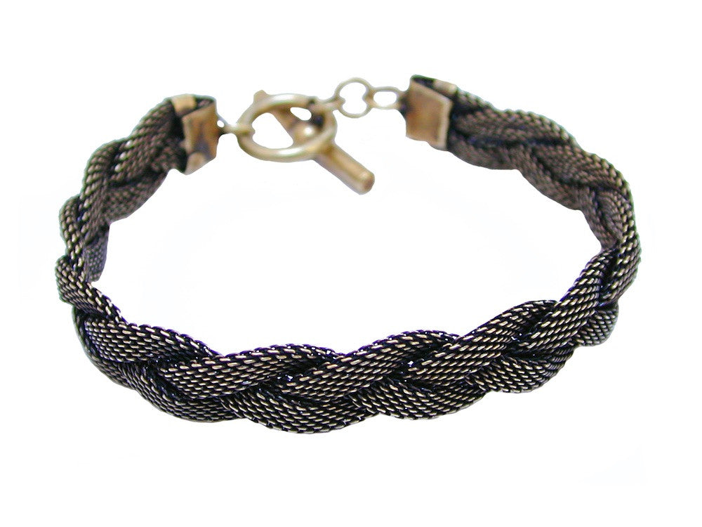 Simple Braided Mesh Bracelet