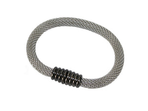 Round Mesh Bracelet with Magnetic Clasp | Erica Zap Designs