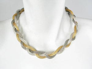 Braided Mesh Necklace | Erica Zap Designs