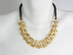 Ribbon Chain Mesh Necklace | Erica Zap Designs
