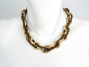 Oval Link Chain and Mesh Necklace | Erica Zap Designs