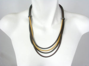 Multi Strand Mesh Necklace