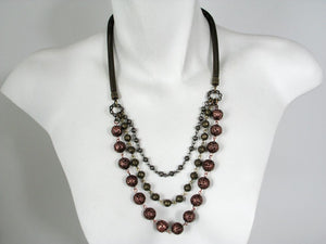 Multi-Chain Mesh Necklace | Erica Zap Designs
