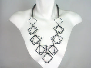 Multi Square Necklace