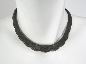 Choker Mesh Necklace | Erica Zap Designs