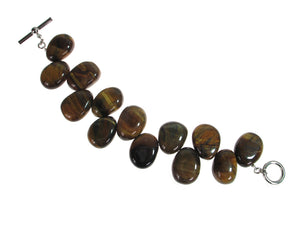 Large Tiger Eye Bracelet | Erica Zap Designs