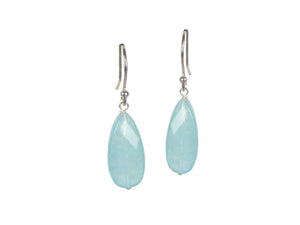 Turquoise Teardrop Earrings | Erica Zap Designs