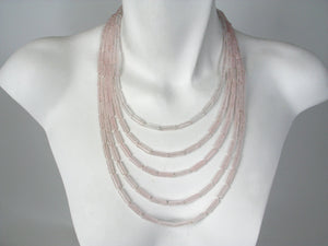 5-Strand Stone Necklace | Erica Zap Designs