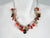 Stone Cluster Necklace Rose Quartz Smokey Quartz Carnelian Mix | Erica Zap Designs