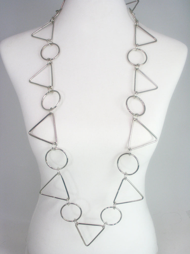 Geometric Wire Necklace