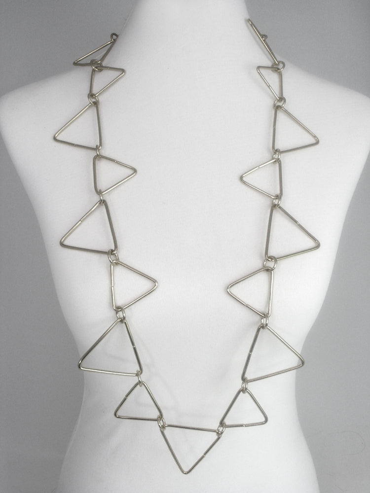 Triangle Wire Necklace