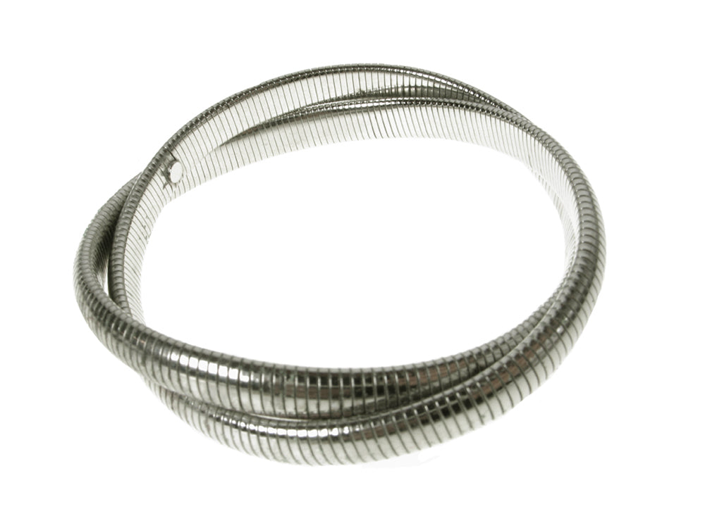Sterling Double Cobra Bangle