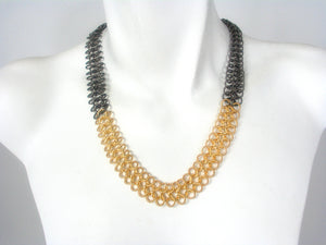 2 Tone Chain Necklace