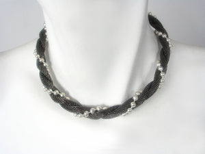 Mesh Twist Necklace | Erica Zap Designs