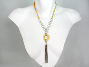 Mesh Necklace with Tassel | Erica Zap Designs