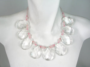 Crystal and Rose Quartz Necklace | Erica Zap Designs