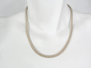 Woven Sterling Mesh Chain | Erica Zap Designs