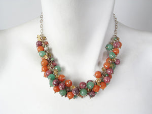 Stone Cluster Necklace | Erica Zap Designs