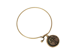 Cross Charm Bracelet | Erica Zap Designs