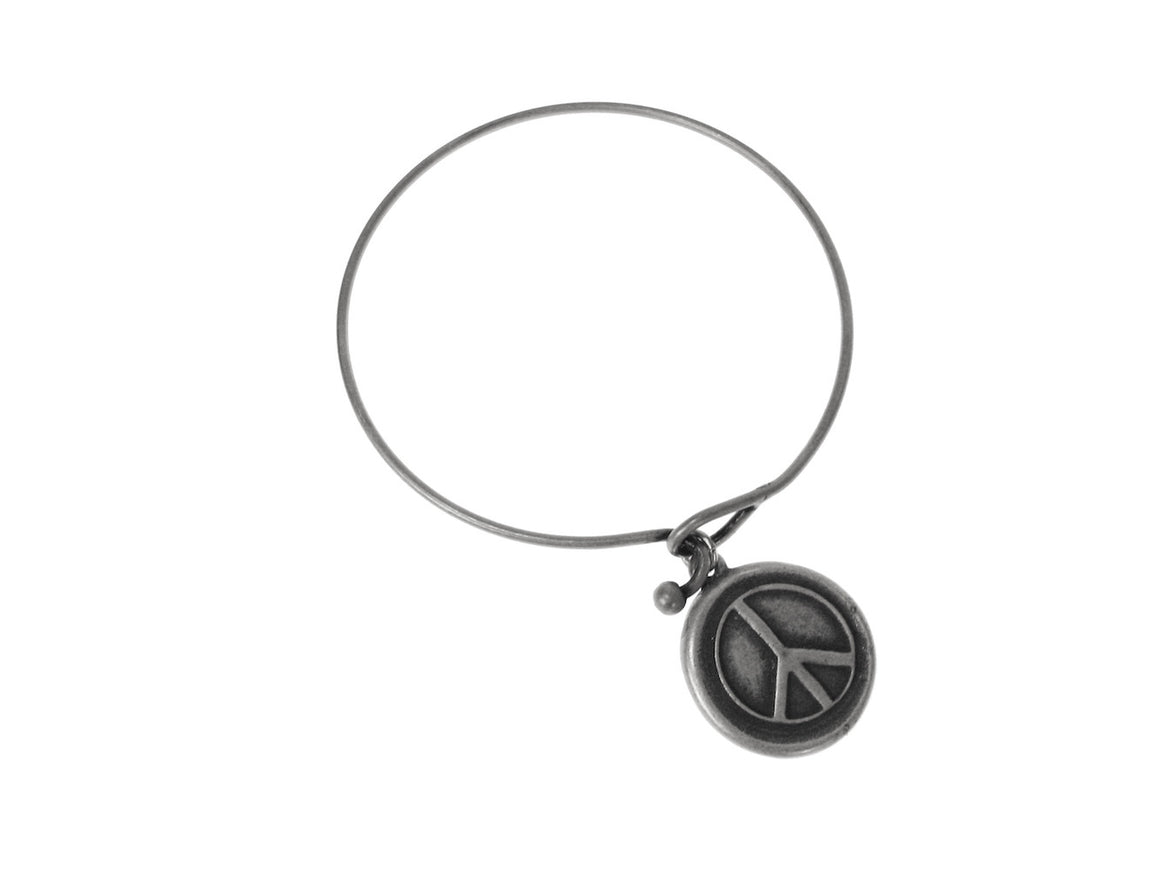 Peace Sign Charm Bracelet | Erica Zap Designs