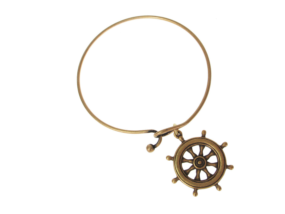 Ship's Wheel Charm Bracelet | Erica Zap Designs