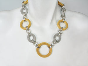 Linked Mesh Ring Necklace | Erica Zap Designs