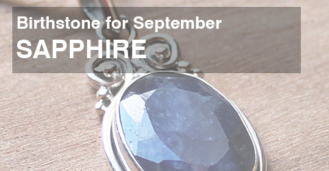 Birthstone for September: Sapphire or Iolite