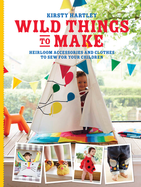 Wild Things to Make  sewing book SIGNED COPY