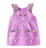 Bunny Dress Liberty Print in Lavender