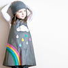 Rainbow cord jumper dress