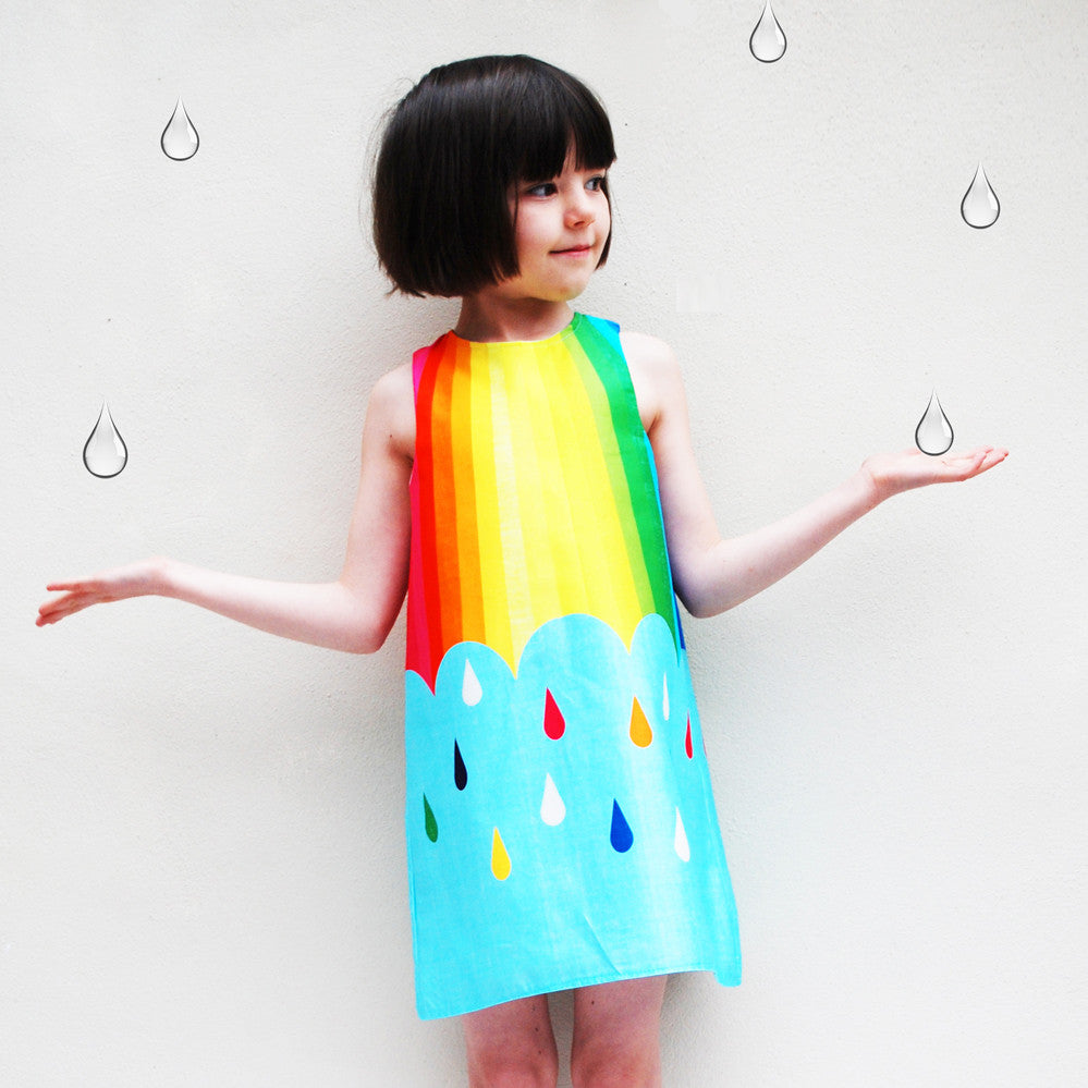 Spectrum Print Rainbow Dress