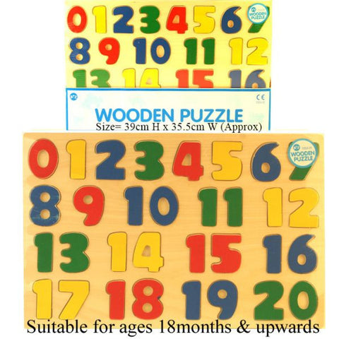 123 Wood Puzzle PREORDER