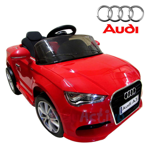 AUDI A3 LICENSED KIDS RIDE ON CAR 12V TWIN MOTOR