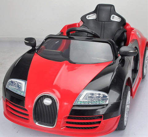 Bugatti ride on 12volt car with Parental Control Adjustable Seat