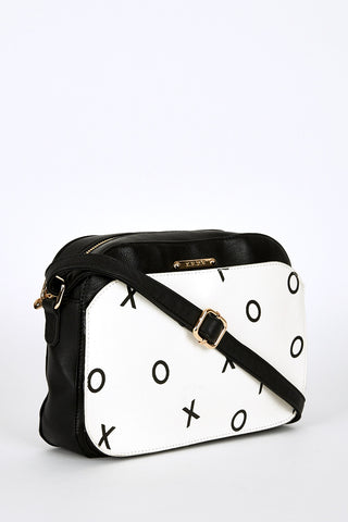 Small Cross-Body Bag With Letter Print