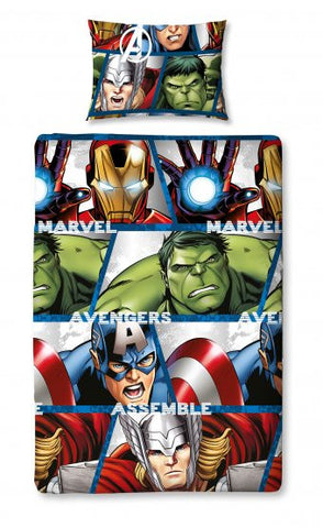 Disney Marvel Avengers Shield Rotary Duvet