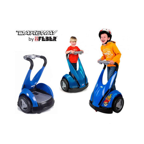 kids childs electric 12v battery Ride on Balance Scooter - Blue