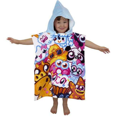 "Official Moshi Monster ""Moshlings"" Character Hooded Towel Poncho"